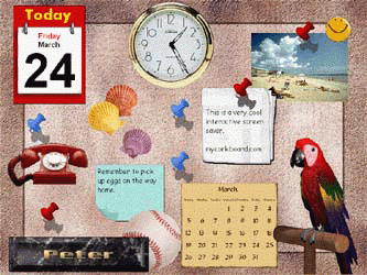 MyCorkboard Screenshot 1