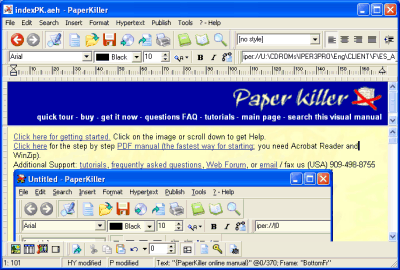 Paper Killer Italiano Screenshot 1