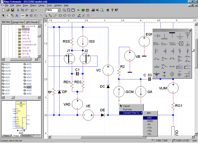 Rimu Schematic 2 Screenshot