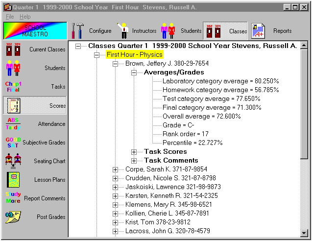 School Maestro II Screenshot