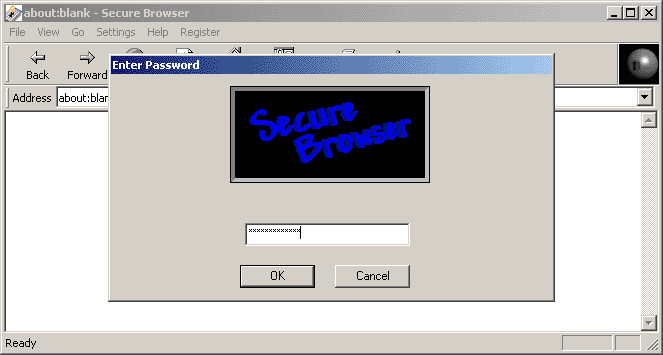 Secure Browser Screenshot