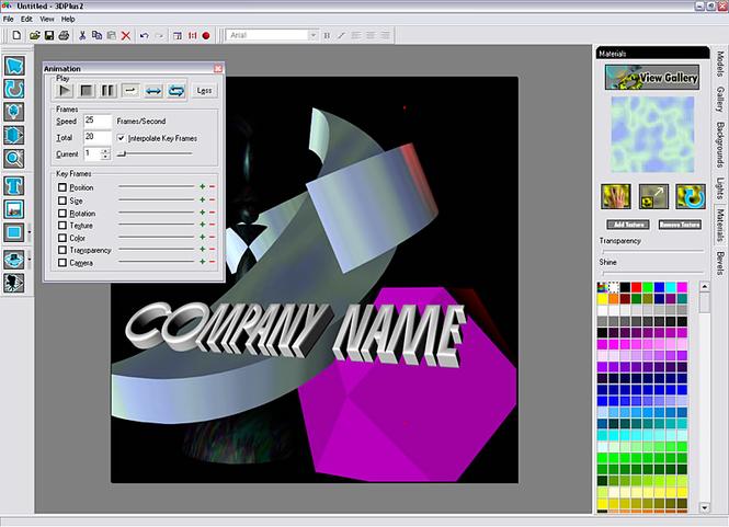Serif 3DPlus Screenshot 1
