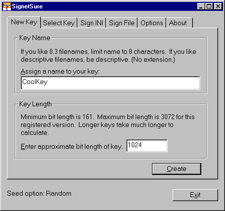 SignetSure Screenshot 1