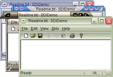 skinmagic toolkit for visual c++ source code Screenshot