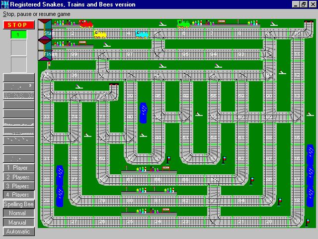Snakes, Trains and Bees Screenshot 1