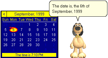 Speaking Calendar Screenshot