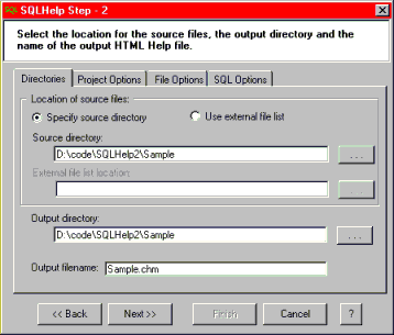 SQLHelp Screenshot