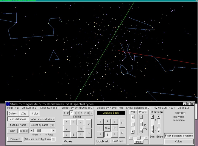 Stars and Galaxies in 3D Screenshot