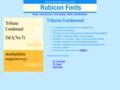 Tribune Condensed Font Type1 1