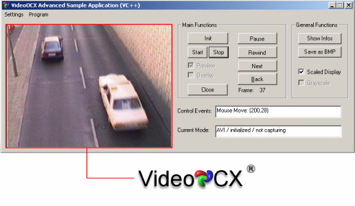 VideoOCX Screenshot
