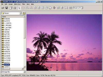 WaveL ViewPic Screenshot