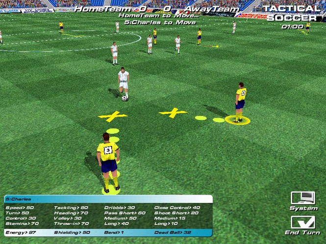 PlaceforGames: Tactical Soccer Screenshot