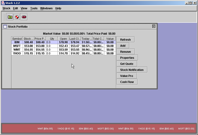 PlexStock Screenshot 1