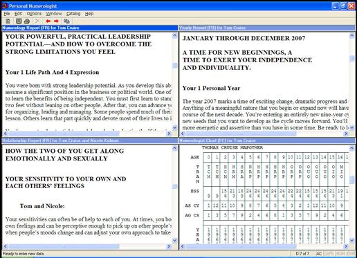 Personal Numerologist Screenshot