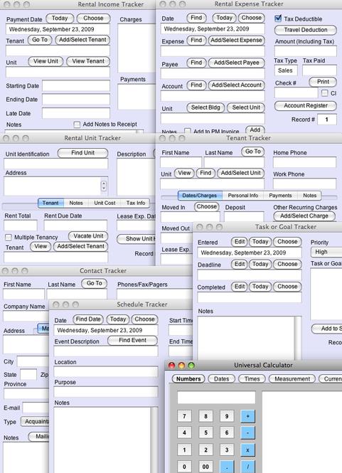 Rental Property Tracker Plus Screenshot