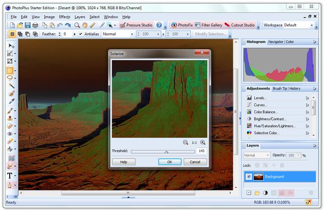 PhotoPlus Starter Edition Screenshot 3