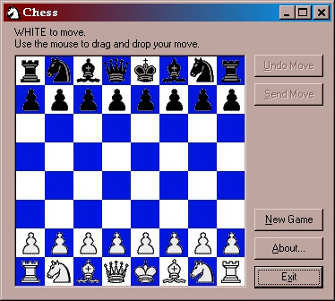 Email Chess Screenshot
