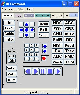 IRCommand2 Screenshot 1