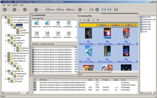 NetGrabber Screenshot