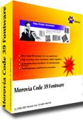 Morovia Code 39 Barcode Fontware Screenshot 1