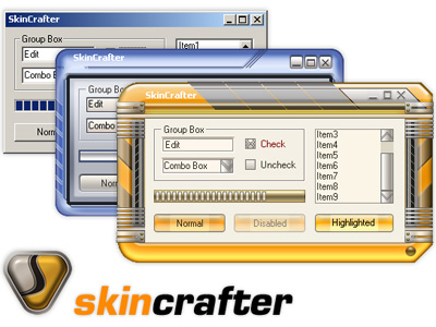 SkinCrafter (AxtiveX+DLL) Screenshot