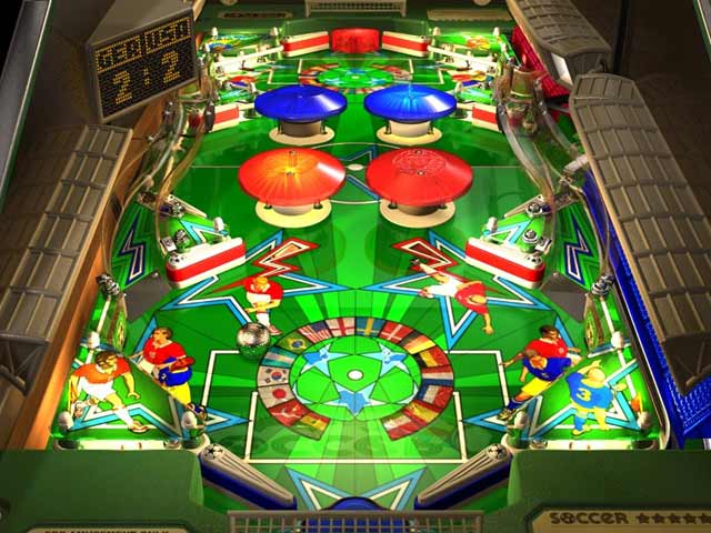 WildSnake Pinball: Soccer ***** Screenshot