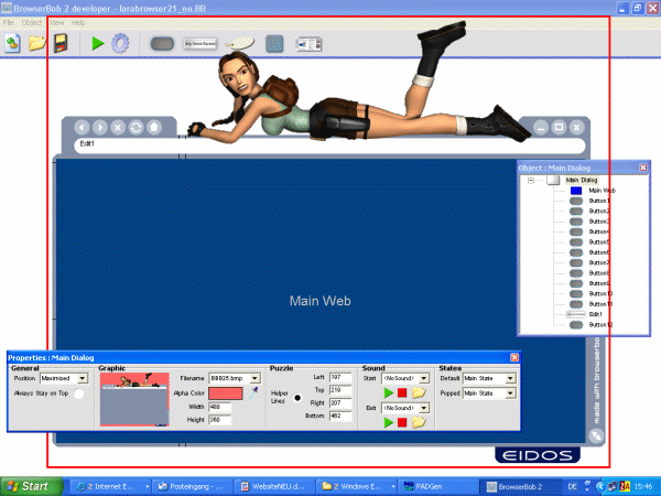 BrowserBob Freeware Edition Screenshot 1