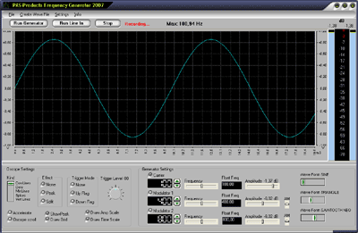 Frequency Generator Screenshot 1