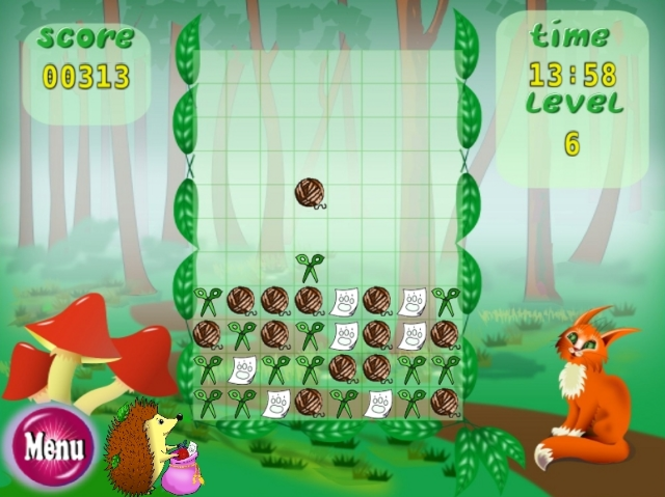 Scissors Game Screenshot