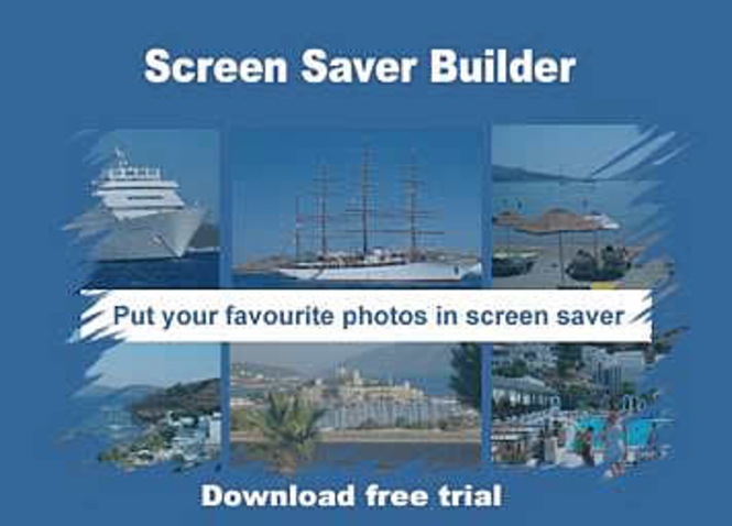 Screen Saver Builder - multi license or business use Screenshot