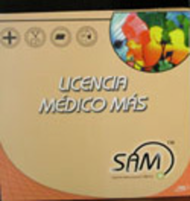 Medico Mas (1) Licencia Screenshot