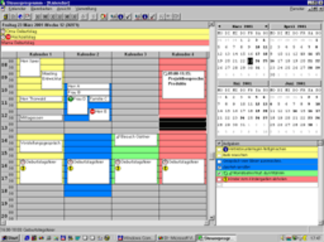 ProKal - A network calendar Screenshot