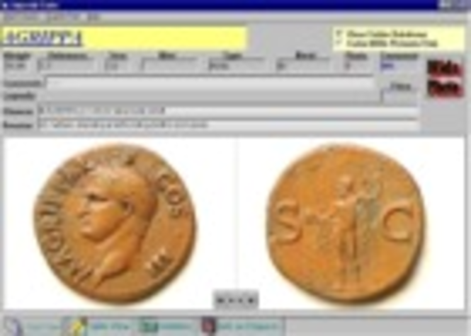Roman Coins on CD-ROM Screenshot 1