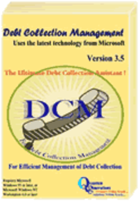 Debt Collection Management Screenshot
