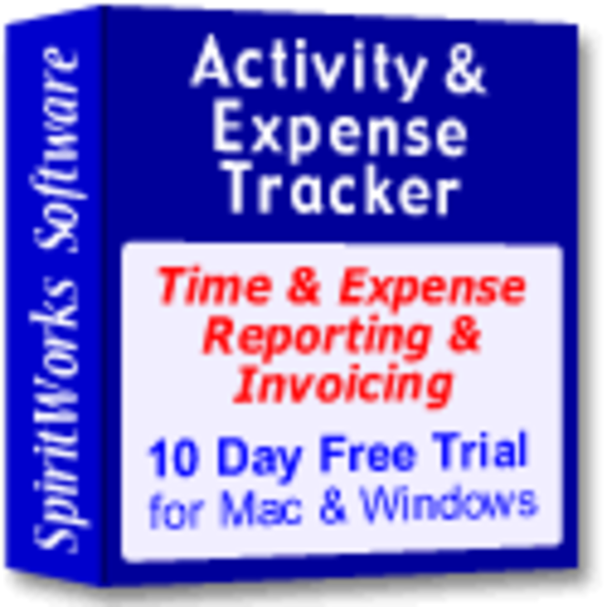 Activity & Expense Tracker for Workgroups Screenshot