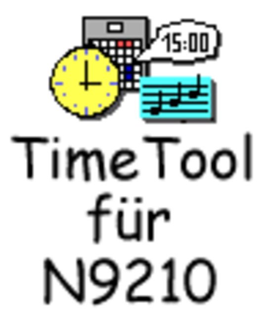 TimeTool für N9210 (deutsche Version) Screenshot
