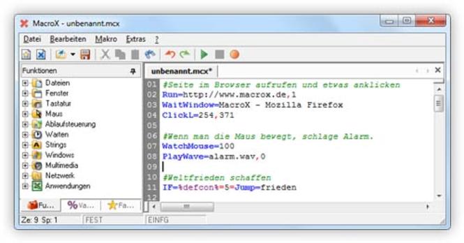 MacroX (1 - 4 Lizenzen) Screenshot