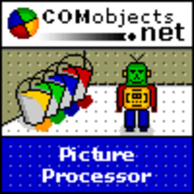 COMobjects.NET Picture Processor (Five Licence Pack) Screenshot 1