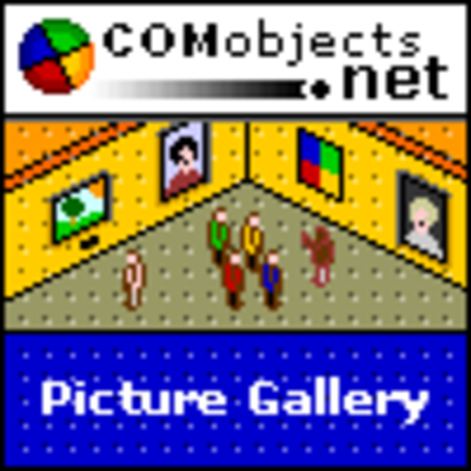 COMobjects.NET Picture Gallery v1.4 (Five Licence Pack) Screenshot
