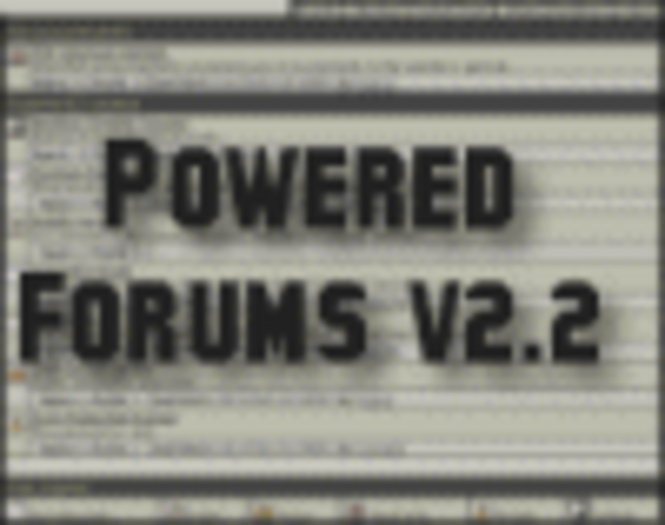 Powered Forums (Closed Source-Single Domain) Screenshot 1