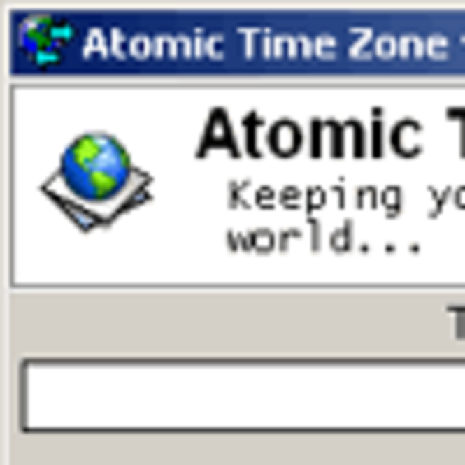 Atomic Time Zone [Regular Edition] Screenshot