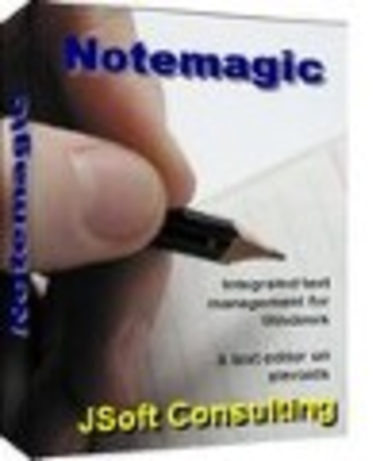 NoteMagic upgrade from previous version of NoteMagic Screenshot