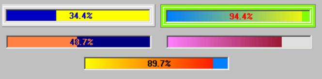 ISAX ProgressBar ActiveX Screenshot 1