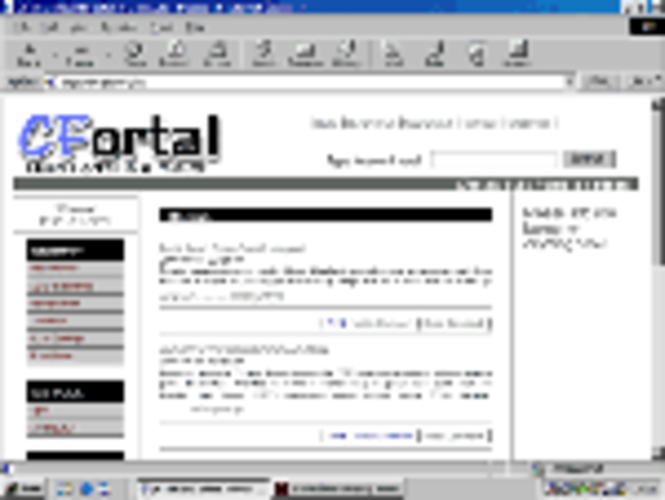 CFortal Open Source Version Screenshot 1