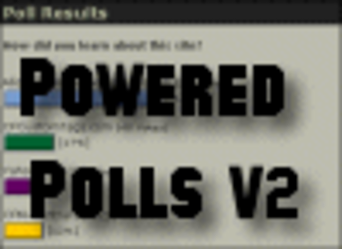 Powered Polls (Open Source -  Enterprise License) Screenshot