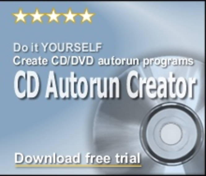CD Autorun Creator - business license Screenshot