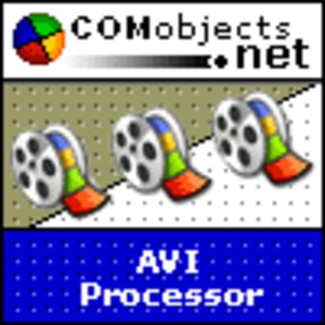 COMobjects.NET AVI Processor (Single Licence) Screenshot