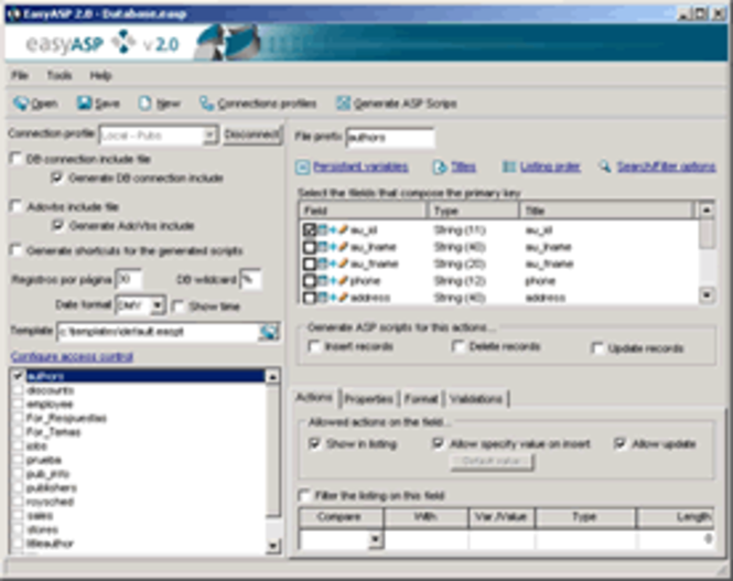 EasyASP Screenshot