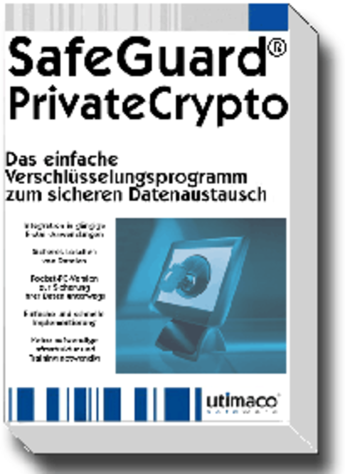 SafeGuard PrivateCrypto 2.30.0, Einzellizenz, Deutsch Screenshot
