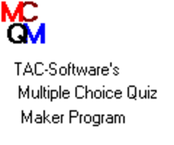 Multiple Choice Quiz Maker Site License Screenshot